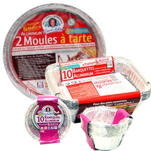 Barquette Alu