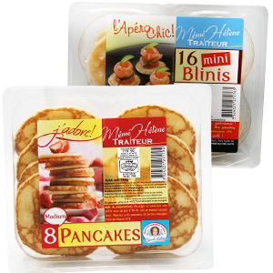 Blinis / Pancake / Crêpe